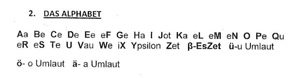 Alfabet niemiecki